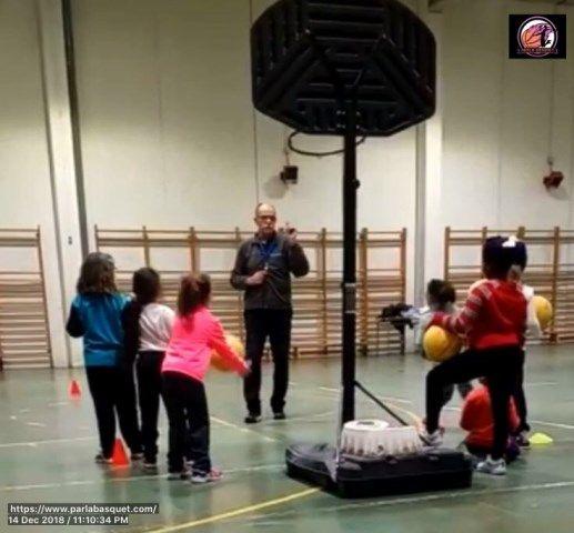 Iniciacion al baloncesto