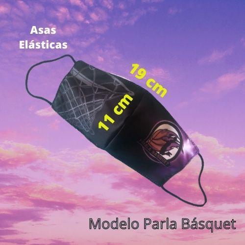 Mascarilla Parla Basquet