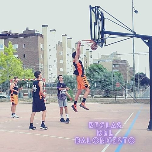 Reglas del baloncesto - Mate